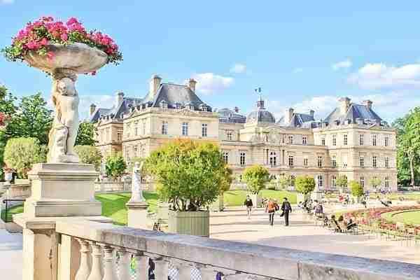 Jardines de Luxemburgo-Barrio Latino-Francia