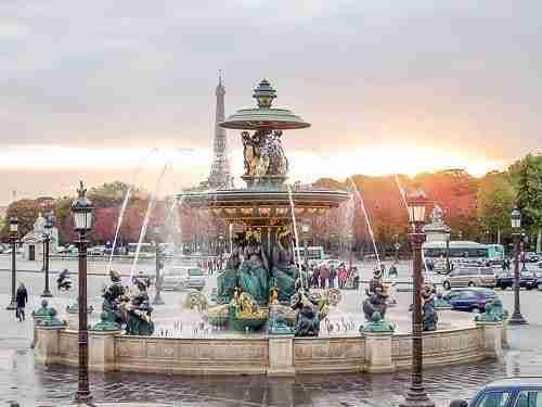 Plaza de la Concordia, París