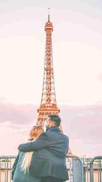 Torre Eiffel - día 1 en Paris