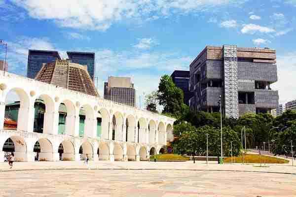 El Barrio de Lapa y sus Arcos: