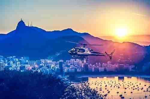 Helicóptero Río de Janeiro