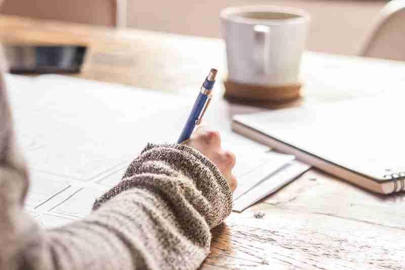 Tómate el tiempo para planificar tus metas