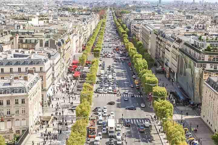 Calles de Paris famosas
