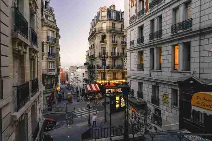 calles típicas de Paris