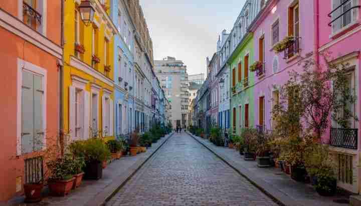 las calles mas bonitas de paris